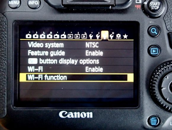 Canon Wi-Fi Function