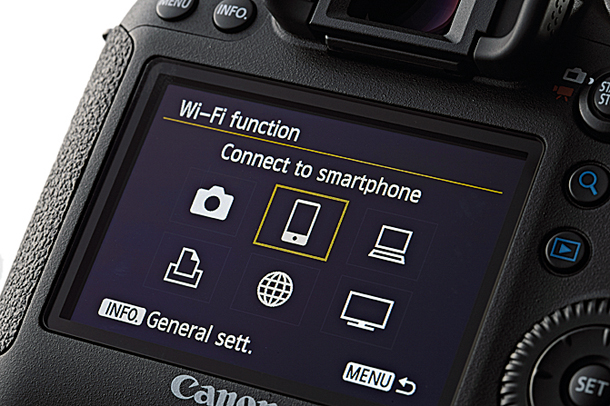 Functia Wi-Fi la un DSLR Canon
