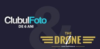 Aniversam azi 6 ani la Clubul Foto si lansam un proiect nou: TheDrone