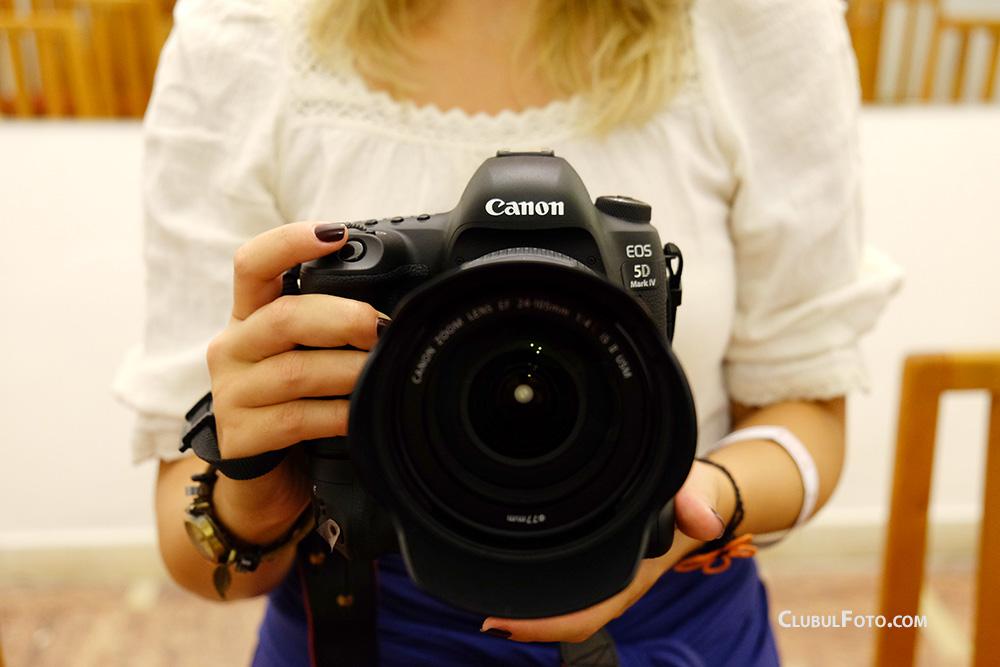 Canon 5D IV in Romania