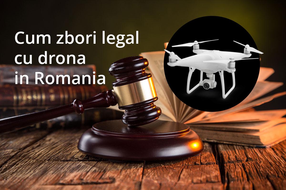 Cum zbori legal cu drona in Romania (actualizat 2021)