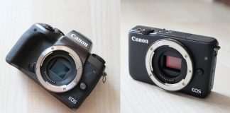 Canon EOS M5 si M10 in test