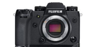 Fuji X-H1 cu noul grip VPB-XH1