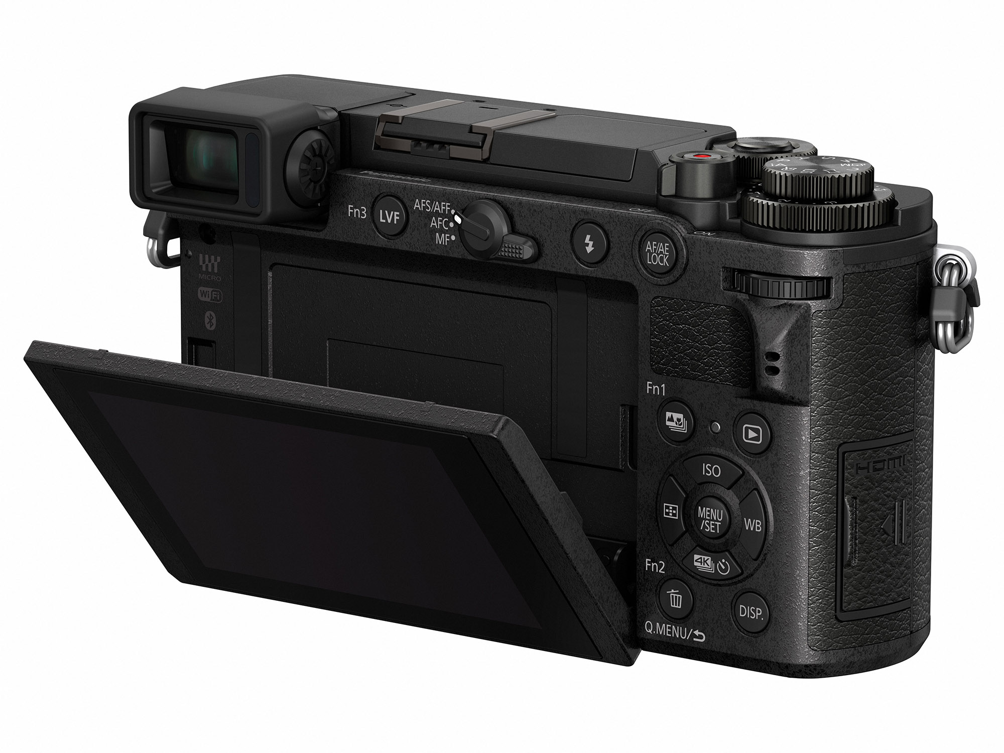 Panasonic GX9 si ecranl sau rabatabil doar vertical, nu si orizontal