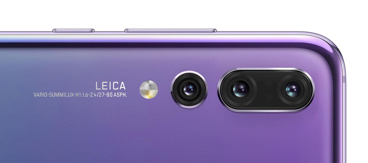 Cele trei camere foto ale lui Huawei P20