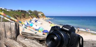 Canon EOS M50 in Vama Veche
