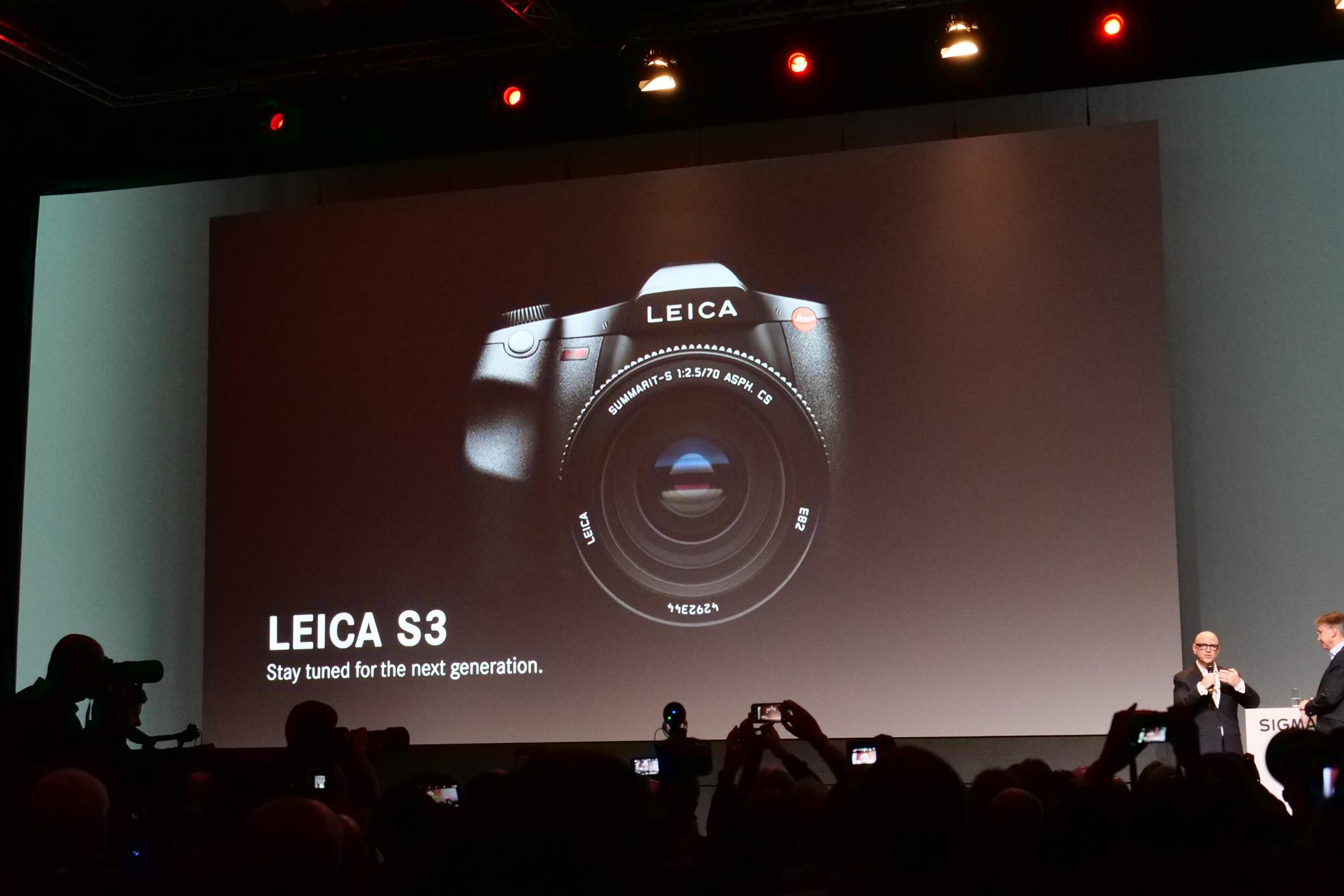 Noul Leica S3