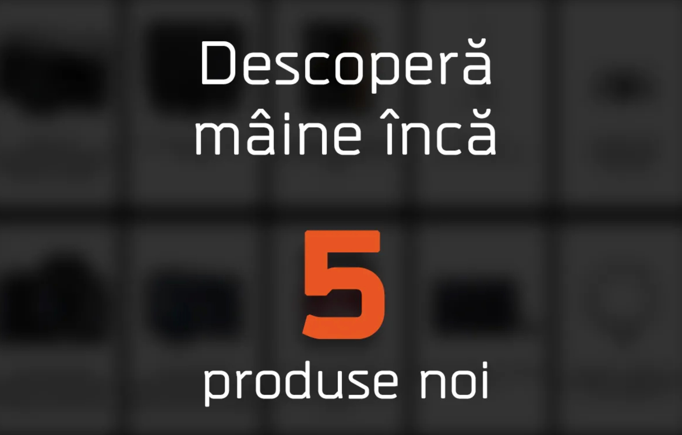 Descopera maine inca 5 produse noi care vor intra in promotie de Black Friday la F64
