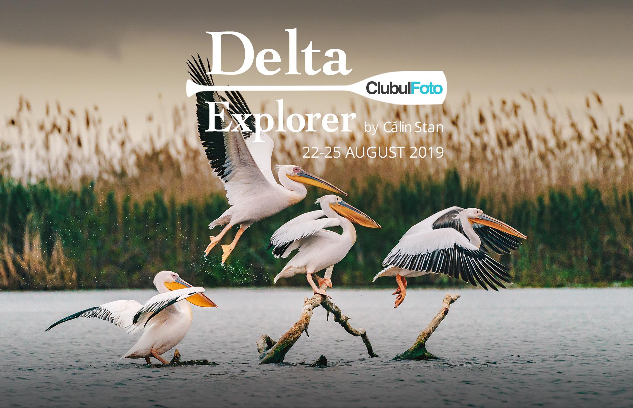 Hai cu mine în Delta Dunării! Tura foto Delta Explorer 8 între 22-25 August 2019